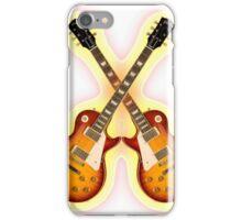 Double Gibson Les Paul Guitar Shirt Men iPhone Case/Skin