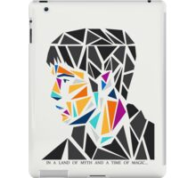 His name, Merlin. iPad Case/Skin