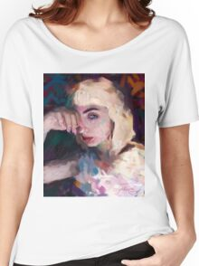 Portrait study Women's Relaxed Fit T-Shirt
