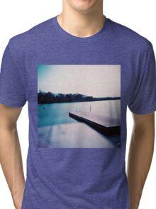 jetty in Helsinki Tri-blend T-Shirt