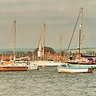 Bosham Church and Harbour by AnnDixon