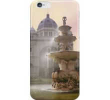 Fountain, Royal Exhibition Buildings, Melbourne iPhone Case/Skin
