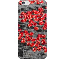 Poppies For The Fallen iPhone Case/Skin