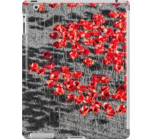 Poppies For The Fallen iPad Case/Skin