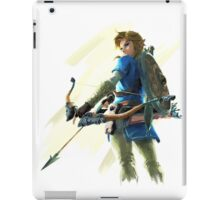 The Legend of Zelda Breath of the Wild - Link With Bow iPad Case/Skin
