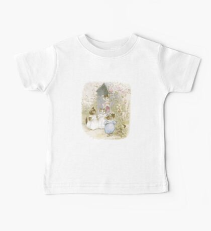 Beatrix potter The Four cats Baby Tee