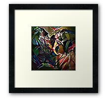 The other way around Framed Print