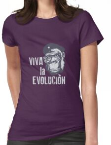 Ape Monkey Chimpanzee Womens Fitted T-Shirt