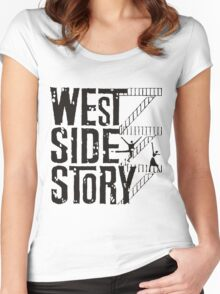 West Side Story logo Women's Fitted Scoop T-Shirt