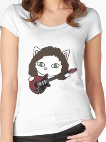 Meow may Women's Fitted Scoop T-Shirt