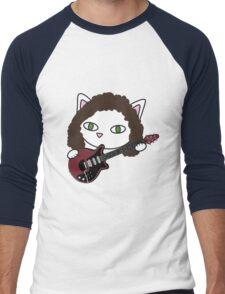 Meow may Men's Baseball ¾ T-Shirt