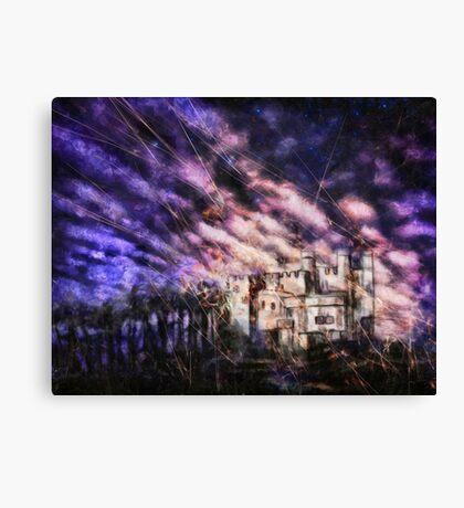 Space - Fireflies Canvas Print