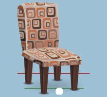 Glitch furniture chair chair modpatterncushion Baby Tee