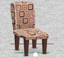 Glitch furniture chair chair modpatterncushion One Piece - Long Sleeve