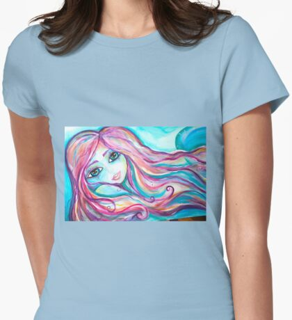 Mermaid Laura Womens Fitted T-Shirt