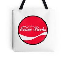 Enjoy Comic Books Tote Bag