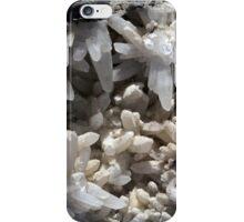 16WhiteCrystalSpikesNatural.jpg iPhone Case/Skin