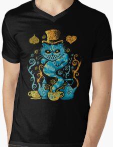 Wonderland Impressions Mens V-Neck T-Shirt