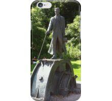Nikola Tesla Statue iPhone Case/Skin