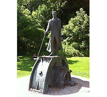 Nikola Tesla Statue Photographic Print
