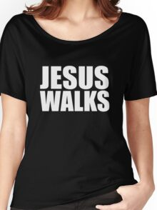Jesus Walks - Kanye West Women's Relaxed Fit T-Shirt