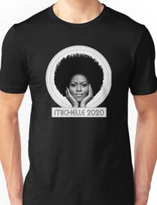 michelle 2020 - Black  Unisex T-Shirt