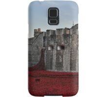 Poppies at the Tower of London - In the evening Samsung Galaxy Case/Skin