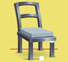 Glitch furniture chair chair steelmetal One Piece - Short Sleeve