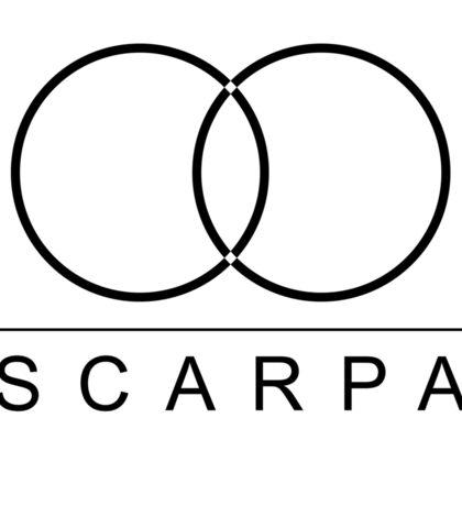 Carlo Scarpa Logo - Black Sticker