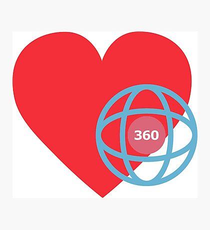 LOVE 360 Photographic Print
