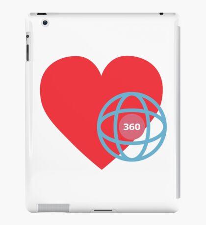 LOVE 360 iPad Case/Skin