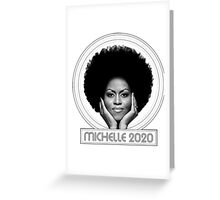 Michelle 2020 - White Greeting Card