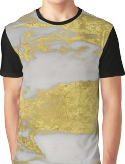 Agria - bright golden marble Graphic T-Shirt