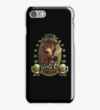 Irish Setter Red Ale Beer Lover copy iPhone Case/Skin