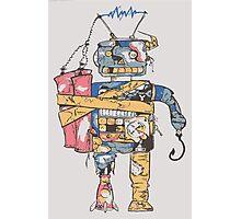 Rustic Robot Photographic Print