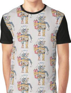 Rustic Robot Graphic T-Shirt