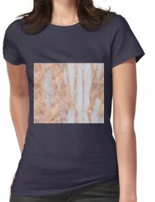 Aprillia - rose gold with golden flecks Womens Fitted T-Shirt