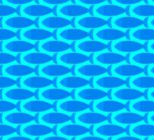 Fish pattern Sticker