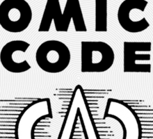 Unapproved by the Comics Code - Red Menace edition Sticker