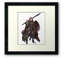 Anime Art Sword  Framed Print