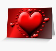 The biggest heart for you Greeting Card