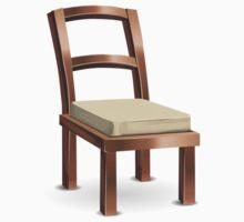 Glitch furniture chair copper metal chair Kids Tee