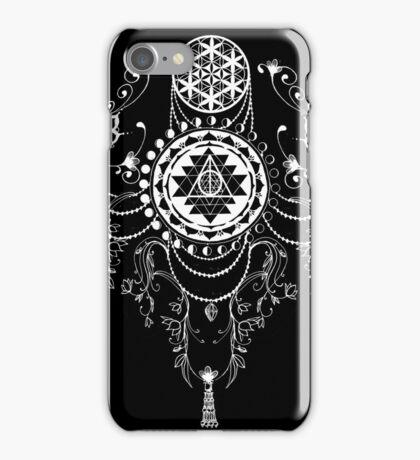 Esoteric Mandala Sacred Geometry Dream Catcher iPhone Case/Skin