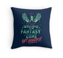 Get Ready! Throw Pillow