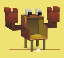 Glitch furniture chair crab chair One Piece - Short Sleeve