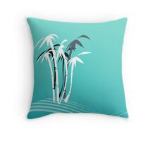 Palm Trees Graphic design 2 Throw Pillow
