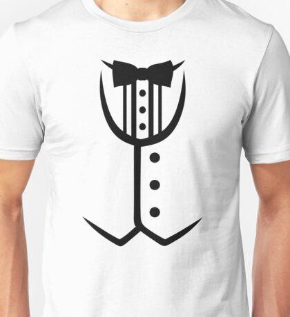 Tuxedo bow tie Unisex T-Shirt