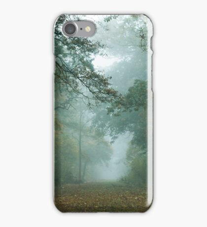 Misty Treetops iPhone Case/Skin