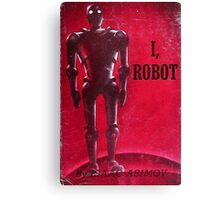 I, Robot By Issac Asimov Canvas Print
