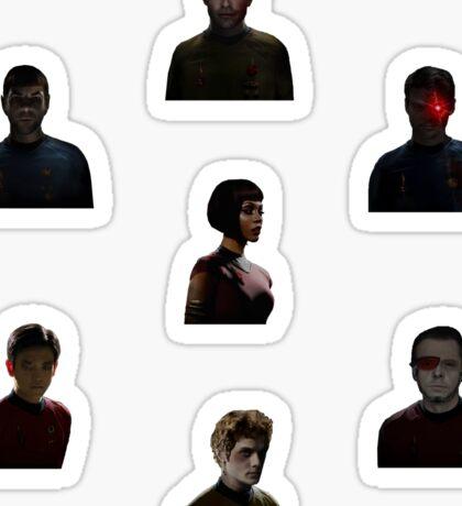 Mirror Star Trek Stickers Sticker